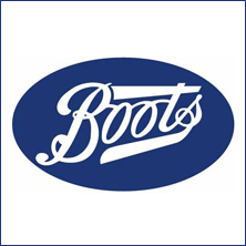 Boots Logo, one of our Corporate Video Clients - Clients Page - Vivid Photo Visual