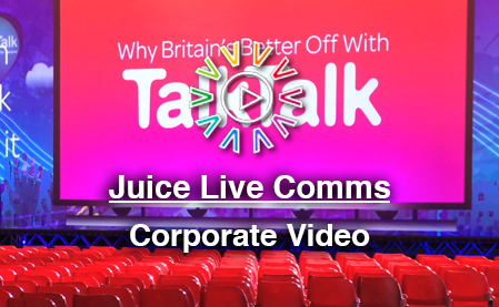 Corporate Video Example - Juice Live - Vivid Photo Visual
