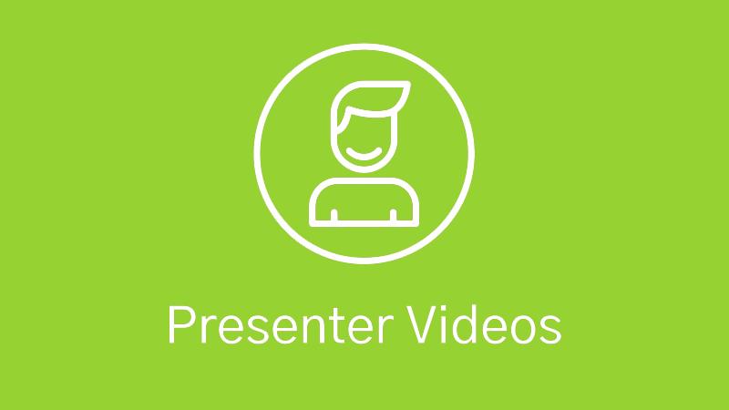 Presenter Video Production Icon