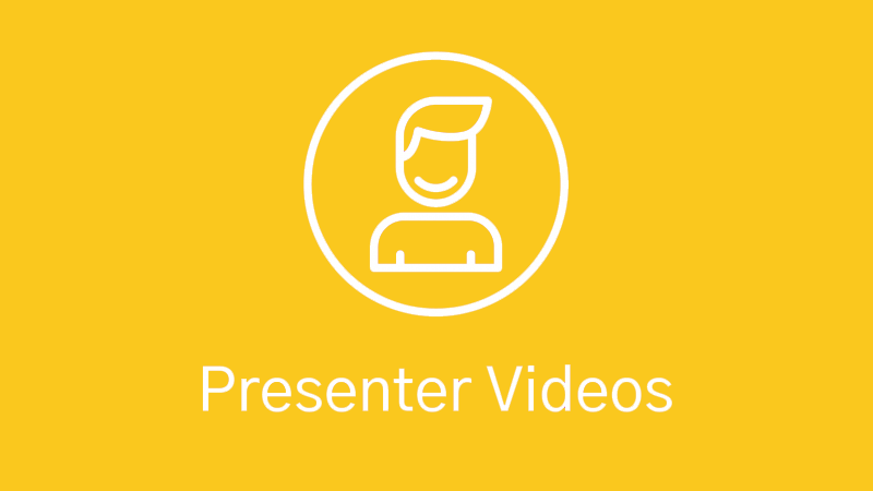 Presenter Video Production Icon
