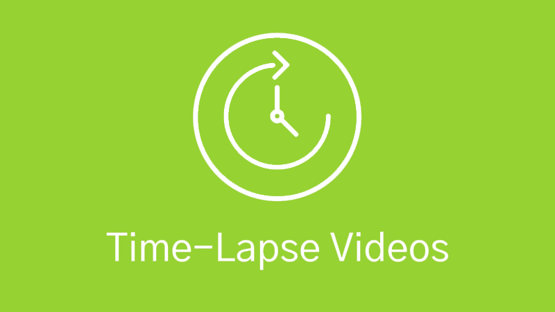 Time-lapse Video Production Icon