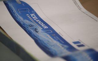 Time-lapse Video Livery design - Icelandair